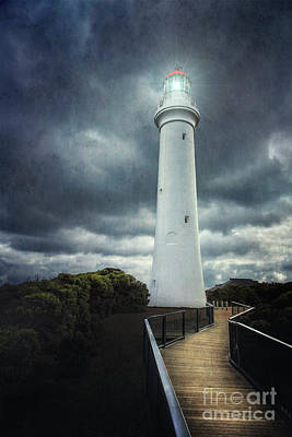 Great Ocean Road Photograph - Powerlight by Evelina Kremsdorf