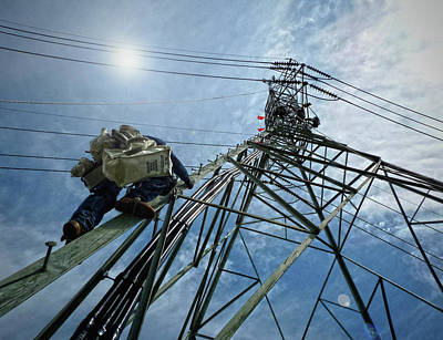 Photograph - Powerline by Robert Geary