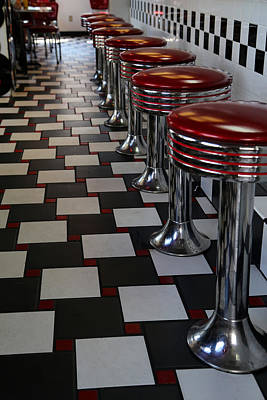 Photograph - Power's Diner Port Huron by Mary Bedy