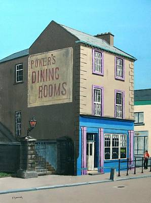 Solicitor Painting - Power's Dining Rooms by Tony Gunning