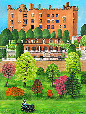 Wales Painting - Powis Castle - Wales by Ronald Haber