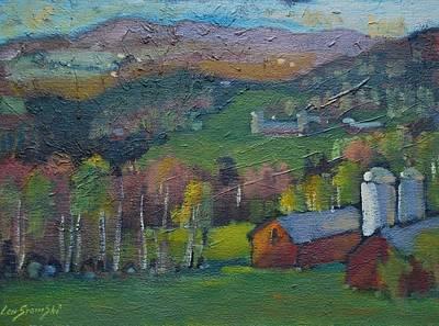 Painting - Pownel Vt by Len Stomski