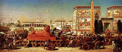 Poynter Sir Edward John Israel In Egypt Art Print by Edward John Poynter