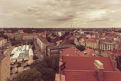 Photograph - Poznan Cityscape North View by Jacek Wojnarowski