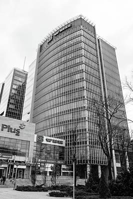 Photograph - Poznan Financial Centre Poland by Jacek Wojnarowski
