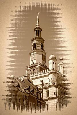Photograph - Poznan Town Hall Fine Art by Jacek Wojnarowski