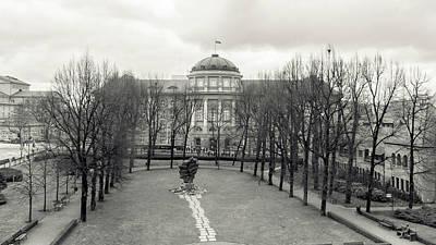 Photograph - Poznan University Of Medical Sciences Poznan Poland by Jacek Wojnarowski