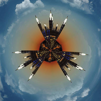 Photograph - Ppg Little Planet  by Emmanuel Panagiotakis
