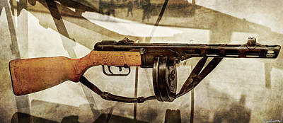 Photograph - Ppsh-41 Machine Gun by Weston Westmoreland