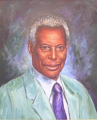 Painting - Pr. Daffa Jammo by Samuel Daffa