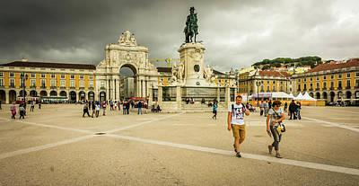 Photograph - Praca Do Comercio by Andrew Matwijec