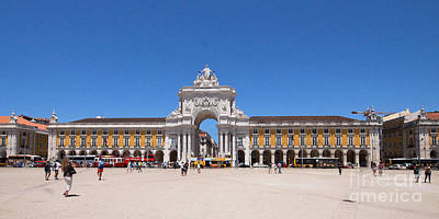 Photograph - Praca Do Comercio Lisbon 1 by Rudi Prott