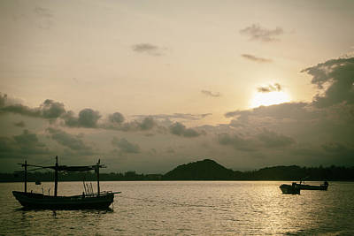Photograph - Prachuap Kiri Khan Sunset by Georgia Fowler