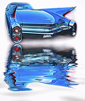 Car Photograph - Practicality Be Damned - Reflection by Steve Harrington