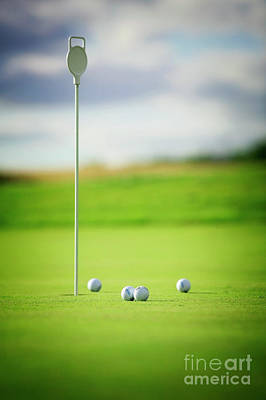 Photograph - Practice Putts by Scott Kemper