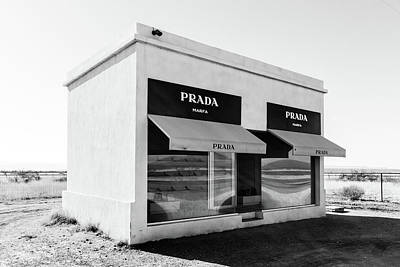 Photograph - Prada Marfa Art Installation by SR Green