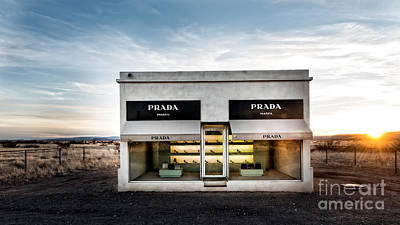 Installation Photograph - Prada Marfa by Edward Fielding