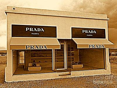 Photograph - Prada Marfa  by Michael Hoard