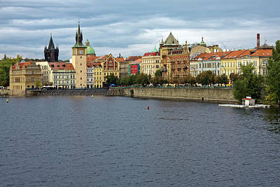 Photograph - Prague And The Danube by Sally Weigand