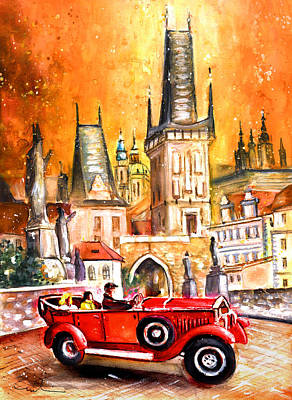 Painting - Prague Authentic 01 by Miki De Goodaboom