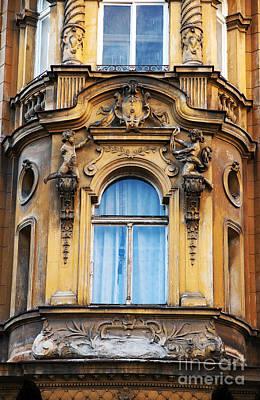 Photograph - Prague Balcony by John Rizzuto