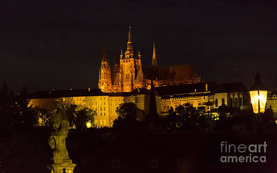 Prague Castle Digital Art - Prague Castle And St. Vitus by Gary Rieks