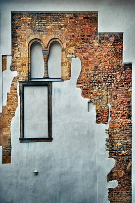 Photograph - Prague Castle Historical Architectures Marks by Songquan Deng