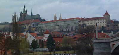 Prague Castle In Prague Czech Republic Print by Paul Pobiak