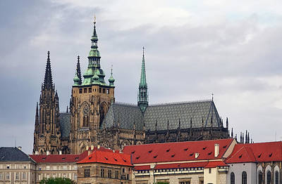Photograph - Prague Castle In Prague Czech Republic by Richard Rosenshein