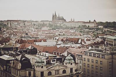 Prague Castle Photograph - Prague Castle In The Czech Republic by Brandon Bourdages