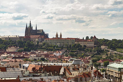 Photograph - Prague Castle by Josef Pittner