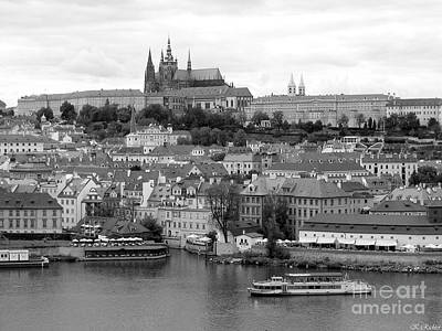 Prague Castle Art Print by Keiko Richter