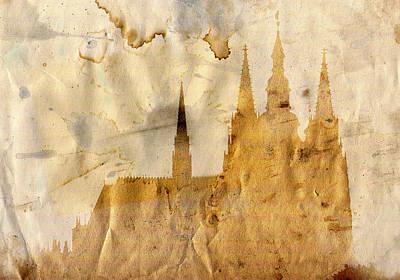 Prague Castle Art Print by Michal Boubin