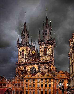 Photograph - Prague Cathedral by Endre Balogh