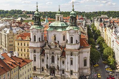 Photograph - Prague Church by Josef Pittner