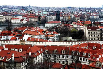 Prague City Art Print by John Rizzuto