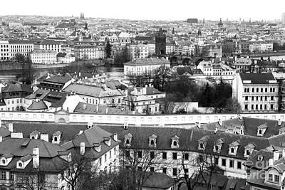 Photograph - Prague Cityscape I by John Rizzuto
