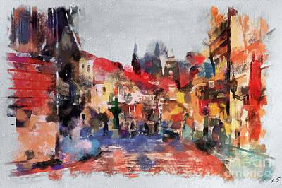 Digital Art - Prague Collection -1 by Sergey Lukashin