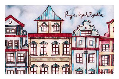 Prague Czech Republic Art Print by Camie Call