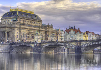 Vltava Photograph - Prague, Czech Republic by Juli Scalzi