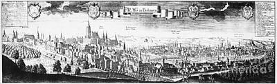 Panorama Prague Photograph - Prague, Czechoslovakia by Granger