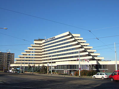 Prague Hotel Pyramid Original by Ladislav Kovac