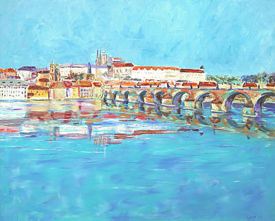Painting - Prague II by Elizabeth Lock