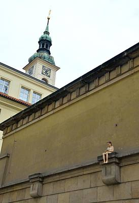 Photograph - Prague Klementinum by Steven Richman