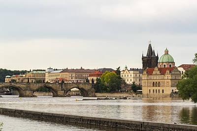 Photograph - Prague Landscape by Josef Pittner