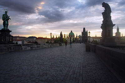 Photograph - Prague Morning by Jed Holtzman