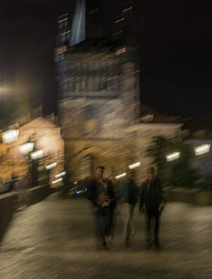 Photograph - Prague Nights by Alex Lapidus
