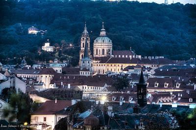Photograph - Prague Old City by Isaac Silman