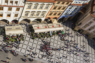 Photograph - Prague - Old Town Square by Josef Pittner