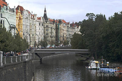 Photograph - Prague River by Haleh Mahbod